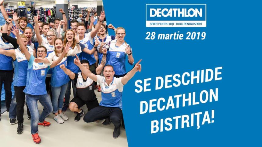 DECATHLON DESCHIDE O NOUĂ UNITATE LA BISTRIȚA RETAIL PARK